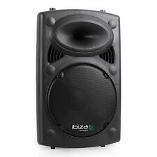 ENCEINTE SONO AMPLIFIEE DJ PA HIFI STUDIO KARAOKE USB SD MP3 EQ 2X MIC IN 400W