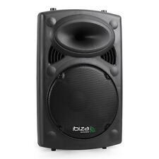 ENCEINTE SONO AMPLIFIEE DJ PA HIFI STUDIO KARAOKE USB SD MP3 EQ 2X MIC IN 400W