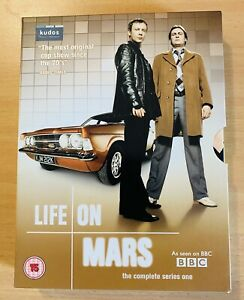 Life On Mars Season 1 (2006) | DVD Set With Slipcase BBC | Excellent Condition