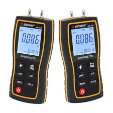 Digital Manometer Air Pressure gauge 11 Unit Vacuum Differential Gauge Meter