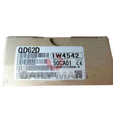 Mitsubishi High Speed Counting Unit Qd62D 2 Channel 500 kHz Rs422 Input Sink New