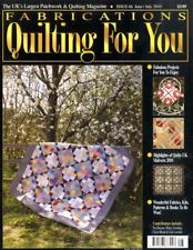 FABRICATIONS QUILTING FOR YOU #66 - VALLEY FORGE, SPLIT NINE-PATCH QUILT