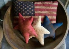 Primitive Americana Stars And Flag Bowl Fillers