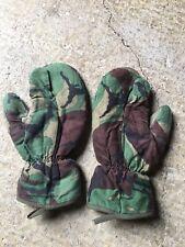 More details for falklands war era cold weather gloves / mittens code ct2b trigger finger