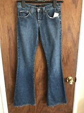JUICY COUTURE distressed Flared Sunrise pockets Jeans Size 26 UK 10- 12 W30 L33