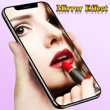 3D Mirror Full Cover Temper Glass Screen Film For iPhone XS Max XR 8+ Protector