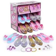 Princess Dress Up & Play Shoe & Jewelry Boutique Set Includes 4 Pairs Toy Easy