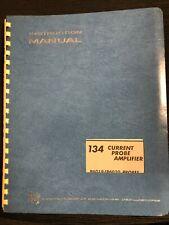 Tektronix 134 Current Probe Amplifier Instruction Manual