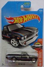 2017 Hot Wheels HW HOT TRUCKS 7/10 Datsun 620 317/365 (Black Version)