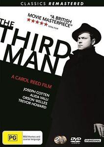 The Third Man   DVD Region 4   2-Disc Set   Brand new & Sealed   Free Postage