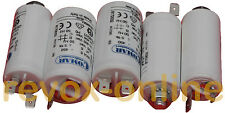 Motorkondensatoren, Betriebskondensatoren,2x 6µF 2x 1,5µF 1x 4µF  für Revox A700