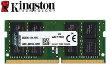 16GB Kingston 16G DDR4 2666 RAM PC4 Laptop Memory 260Pin SODIMM KVR26S19D8/16