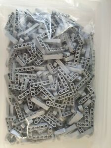 Lego Technic Light Blueish Grey Liftarm 3x5 L Shape Thick Part 32526 X10