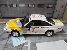 OPEL Manta B 400 Rallye Safari 1985 #2 Aaltonen Gr.B Eurohändler WM S OTTO 1:18