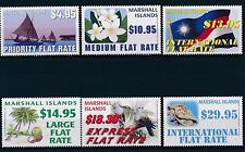 [30596] Marshall Islands 2011 Definitives Flowers Bird Seashell  MNH