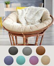 Papasan Cover Classic Wicker Chair, Wicker Chair Cushion Slipcovers