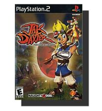 ☆Vg Jak And Daxter The Precursor Legacy Playstation Ps 2, Ps2 Disc+Case+Manual☆