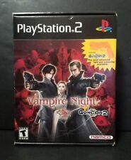 Vampire Night + Guncon 2 (Sony PlayStation 2, 2001) Brand New All Sealed