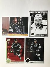 2017-18 Upper Deck Jeff Carter 4 Card Insert Lot