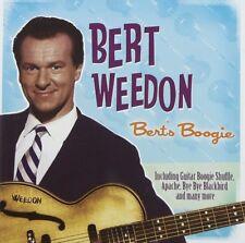 Bert Weedon - Bert's Boogie (New CD)