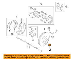 NISSAN OEM 07-18 Versa-Axle Nut 402624M400