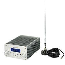 New 5W/15W FM Transmitter Mini Radio Stereo Station Bluetooth Wireless Broadcast