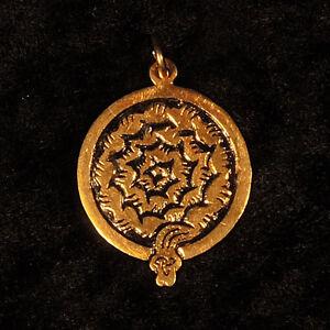 Sternzeichen ₪ Anhänger Keyne ₪ 2.-24.Oktober ₪ Silber, vergoldet