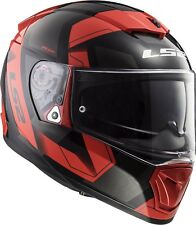 Ls2 Casque Moto integral Ff390 Breaker Physics Noir Rouge XL
