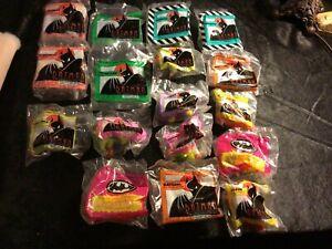 Vintage 1993 McDonald's Batman Happy Meal Toys - Lot of 17