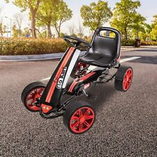 Pedal Go Kart Children Ride on Racing Car Toys Adjustable Seat for 3 – 7