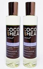 2 BBW Coco Shea COCONUT Richly Nourishing Lightweight Body Oil 24 Hr Moisture