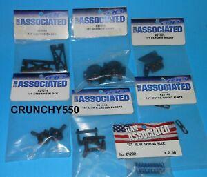 Vintage Team Associated 18T Parts Lot 21008 21025 21140 21015 21202 NIP