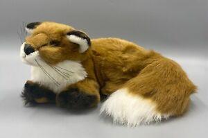 Vintage Mary Meyer Stuffed Plush Brown Fox - 1994