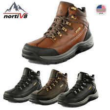 NORTIV 8 Men's Military Tactical Boots Hiking Combat  Army Work Waterproof Shoes