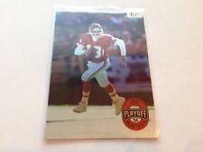 Joe Montana 1994 playoff BASE CARD #1 San Francisco 49ers/Kansas City Chiefs
