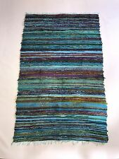 NEW Handwoven Vintage Shabby Chic Rag Rug Indoor Outdoor Floor Home Decor Chindi