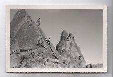 PHOTO ANCIENNE G. Tairraz Paysage de Montagnes Alpes Alpinisme Alpiniste 1950