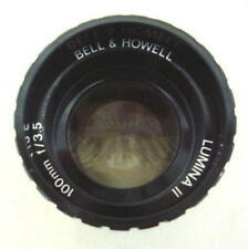 BELL HOWELL LUMINA II PROJECTION LENS 100mm f3.5  #Harlett