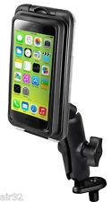 RAM Aquabox Motorcycle Fork Stem Mount for iPhone SE, 4S, 5S, 5C, Others