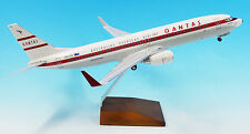 "NEW 1/100 Qantas Boeing 737-800 ""Retro Roo 2"" VH-VXQ with Landing Gear LIMITED"