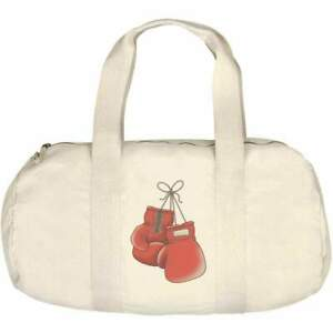 'Boxing Gloves' Canvas Duffle / Gym Bag (DF00011270)