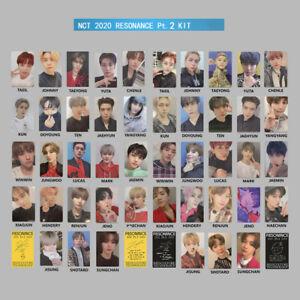Kpop NCT 2020 RESONANCE Pt. 2 Kihno Photo Card Self Made Autograph Photocard