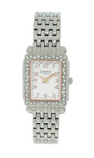 Caravelle by Bulova 43L127 Women's Clear Crystal Rose Gold Tone Analog Watch