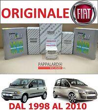 KIT TAGLIANDO 4 FILTRI ORIGINALI + OLIO SELENIA FIAT MULTIPLA 1.9 JTD 77KW 105CV