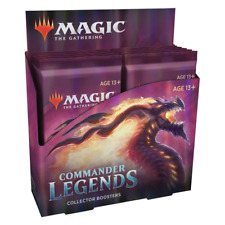 Magic The Gathering Commander Legends Collector Booster Box NEW