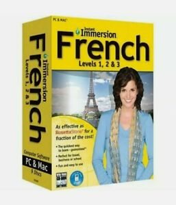 Instant Immersion French Levels 1 2 & 3 Old Version
