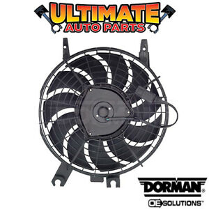 A/C Condenser Cooling Fan (1.6L or 1.8L) for 96-97 Geo Prizm