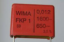 20pcs 12nf 1600V 3% FKP1 0.012uf capacitor polypropylene R22.5mm  WIMA
