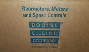 NEW BODINE ELECTRIC COMPANY GEAR MOTOR 42A5BEPM  ¼ HP 1700 rpm
