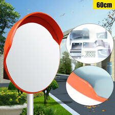 60cm Safety Convex Pc Mirror Road Traffic Wide Angle Driveway Security Top